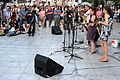 20110706 music concert Syntagma Indignados Athens Greece.jpg