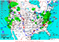 2012-01-21 Surface Weather Map NOAA.png
