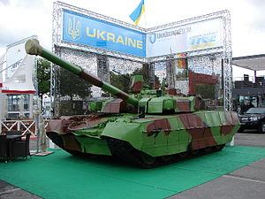 T-84 - BM Oplot at Eurosatory 2012