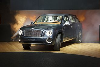 Bentley Bentayga - Bentley EXP 9 F concept at the 2012 Geneva Motor Show