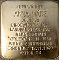 2013-05-08 Stolperstein-Verlegung für Anna März 02.JPG