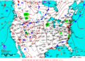 2013-07-13 Surface Weather Map NOAA.png