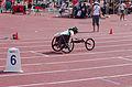 2013 IPC Athletics World Championships - 26072013 - Angela Ballard of Australia during the Women's 400M - T53 first semifinal 12.jpg