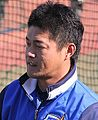 20141122 Takayuki Shinohara,coach of the Yokohama DeNA BayStars, at Yokohama Stadium.JPG