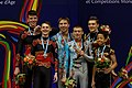 2014 Acrobatic Gymnastics World Championships - Men's pair - Awarding ceremony 07.jpg