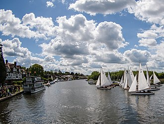 Horning - Start of the 2015 Three Rivers Race