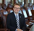 2016 session photo of State Rep. Justin Chenette.JPG