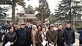 2017年3月17日,历史学者章立凡(左4)、作家老鬼(右3)等体制外人士参加胡耀邦夫人李昭告别仪式.jpg
