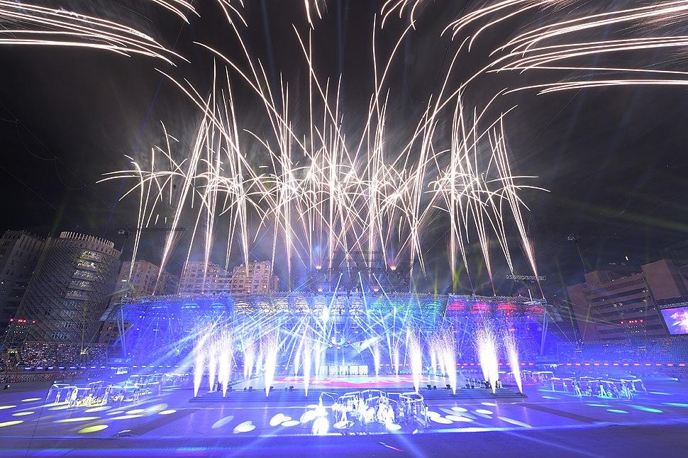 2017臺北世界大學運動會開幕典禮 12