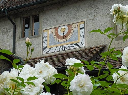 2017-06-09 Sonnenuhr in Stein am Rhein.jpg