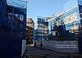 2017 Woolwich, Trinity Walk construction site 02.jpg