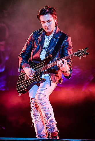 Synyster Gates - Synyster Gates performing at Rock im Park 2018