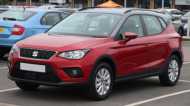 Image of 2018 SEAT Arona SE Technology TSi 1.0 Front