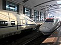 201906 CRH2A-2046 and CRH5A-5090 at Wuchang Station.jpg