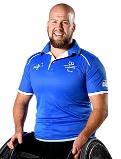 Ryley Batt Australian wheelchair rugby player
