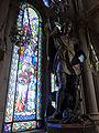 230 Basílica de Montserrat, capella del Cambril, escultura de Sant Jordi, d'Agapit Vallmitjana.JPG