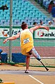 231000 - Athletics field pentathlon Wayne Bell discus action - 3b - 2000 Sydney event photo.jpg