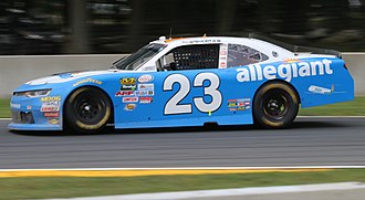GMS Racing - Spencer Gallagher at Road America in 2017.