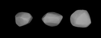 242 Kriemhild - A three-dimensional model of 242 Kriemhild based on its light curve.