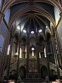 286 Santuari de la Misericòrdia (Canet de Mar), presbiteri i voltes de la nau.JPG