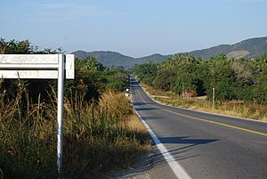 Costa Grande of Guerrero - Highway 200 near Playa Tlalcoyunque