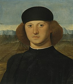 2 Marco Basaiti, PORTRAIT OF A YOUNG MAN, THOUGHT TO BE ALVISE DE FRANCESCHI ca. 1505, Private coll..jpg