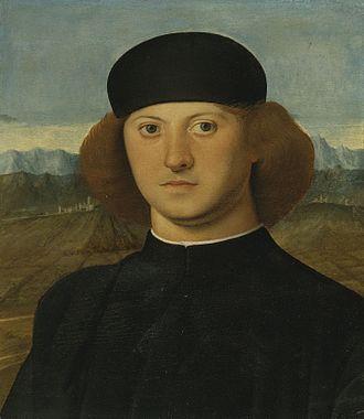 Marco Basaiti - Portrait of a Young Man, Marco Basaiti, 1505