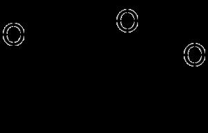 Butenolide - Image: 3 methyl 2H furo 2,3 c pyran 2 one
