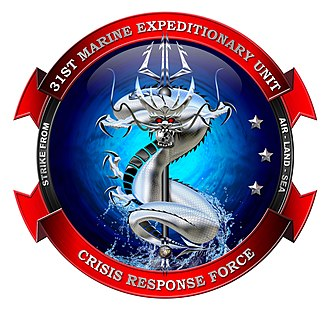 31st Marine Expeditionary Unit - 31st MEU Crisis Response Force Insignia