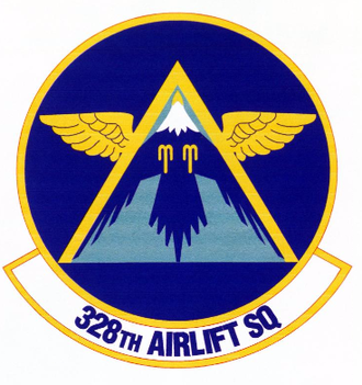 328th Airlift Squadron - Image: 328 Airlift Sq emblem (1996)