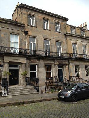 Sir James Gibson, 1st Baronet - 33 Regent Terrace, Edinburgh