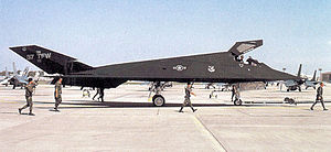 37th Operations Group - F-117A Nighthawk 85-830 at Tonopah AFB after its return from Operation Desert Storm