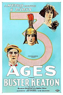<i>Three Ages</i> 1923 film by Buster Keaton, Edward F. Cline