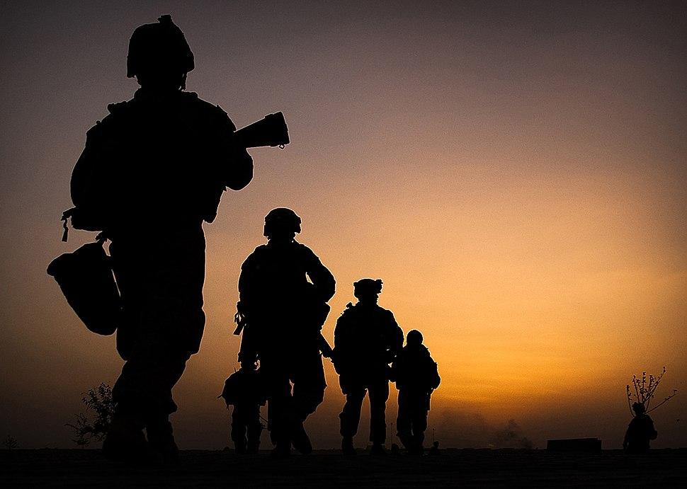 3rd Battalion 3rd Marines dawn patrol