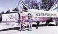 496th Fighter-Interceptor Squadron Convair F-102 Delta Dagger 56-1060.jpg