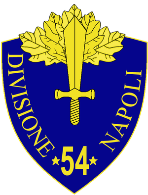 54th Infantry Division Napoli - 54th Infantry Division Napoli Insignia