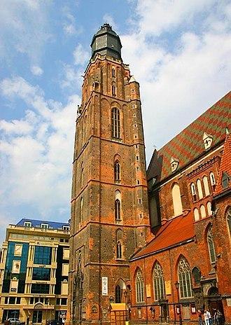 St. Elizabeth's Church, Wrocław - Image: 5 Wroclaw 034