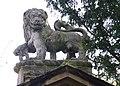 60325 Kirkleatham Hall Gatepiers Lion.JPG
