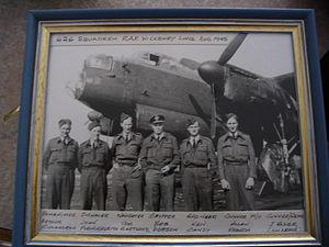 No. 626 Squadron RAF - Members of the 626 squadron