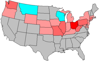 United States House of Representatives elections, 1942 - Image: 78 us house changes