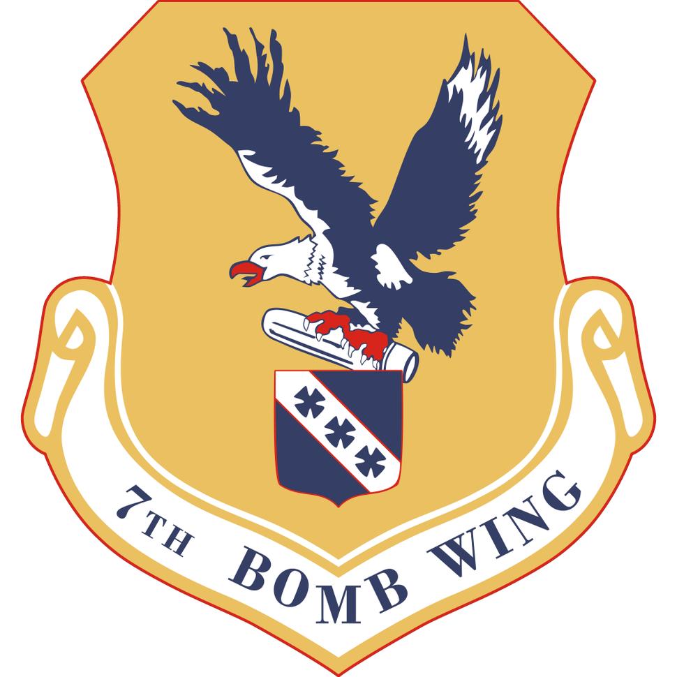7 Bombardment Wg emblem