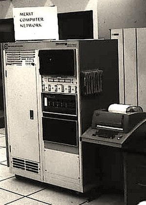 Merit Network - Merit PDP-11 based Primary Communications Processor (PCP) at the University of Michigan, c. 1975