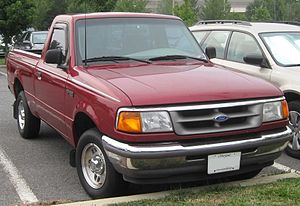 1995-1997 Ford Ranger photographed in Accokeek...