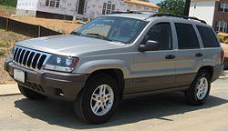 Jeep Grand Cherokee de segunda generación