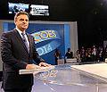 Aécio Neves no último debate da Globo do segundo turno da eleição presidencial de 2014.jpeg