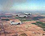 A-7E Ccorsair IIs of VA-122 in flight in 1991.JPEG