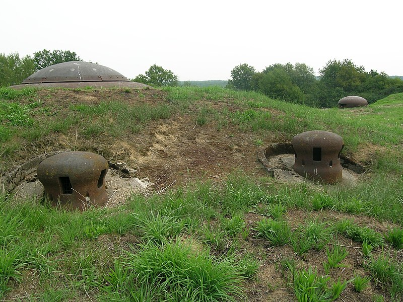 Bloc 2,Ouvrage de Immerhof, Maginot Line, France.