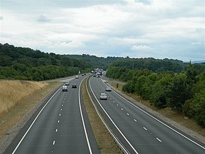 A483 road - Image: A483 geograph.org.uk 219430