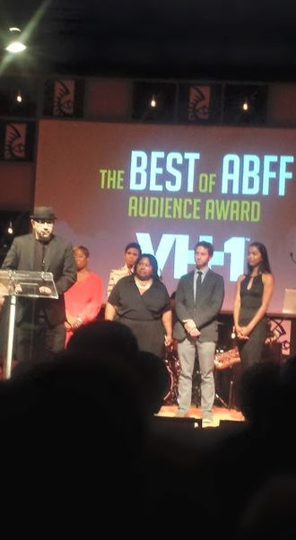 Ben Bowman - Ben Bowman accepting the Audience Award at the 2015 American Black Film Festival