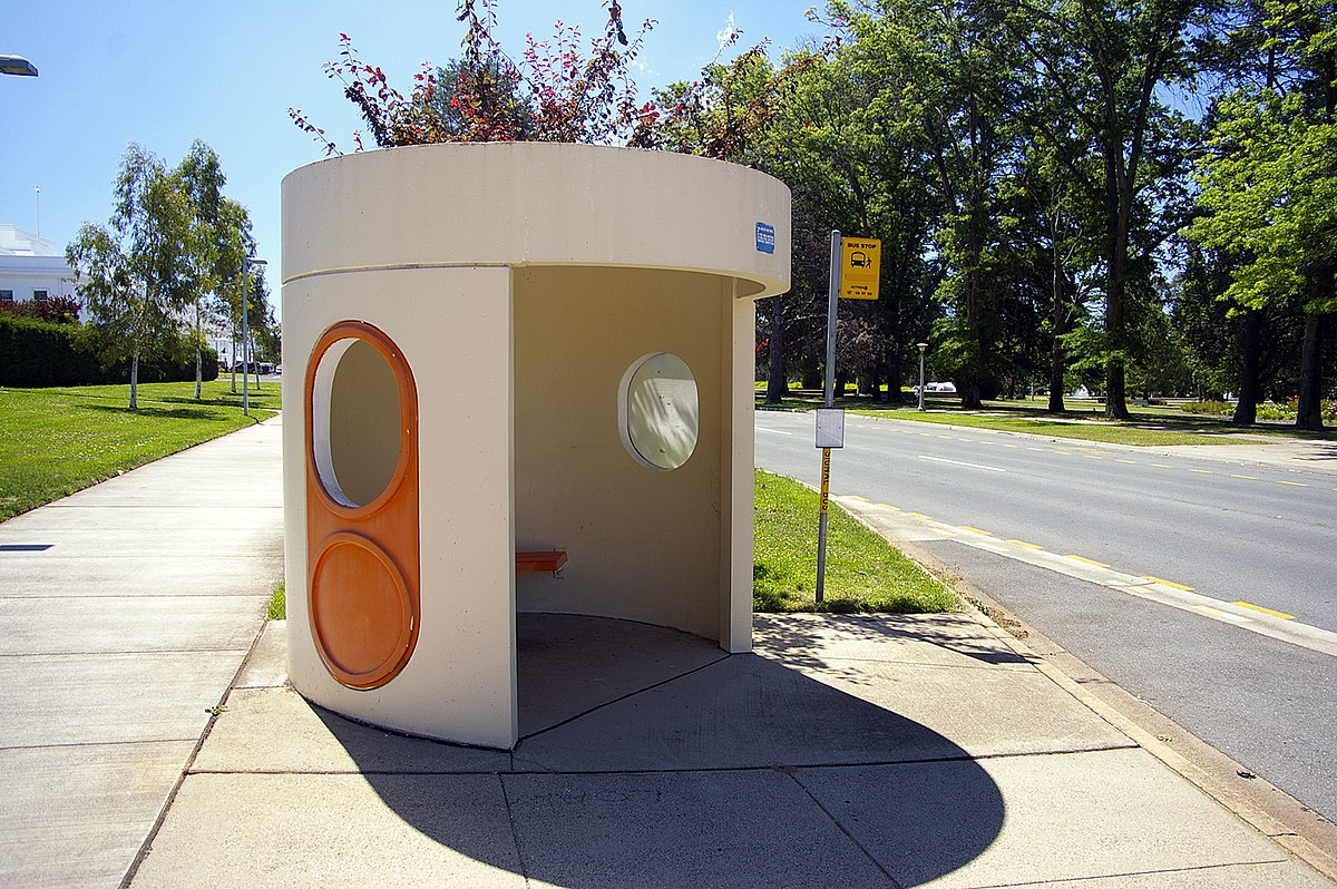 Concrete Bus Shelters In Canberra Wikipedia